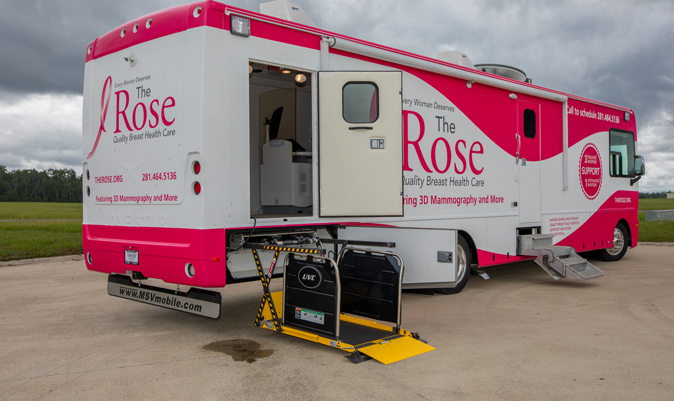 Mammography - Mobile Specialty Vehicles